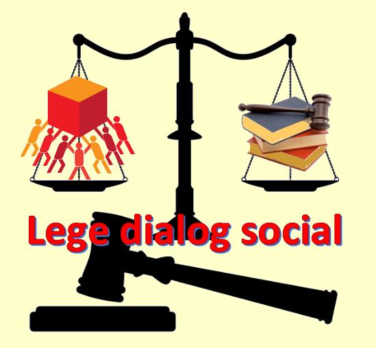 Lege dialog social